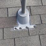 sealed plumbing boot