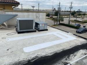 TPO 60MIL Flat Roof Repair